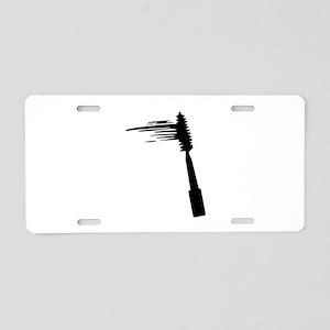 Mascara Aluminum License Plate