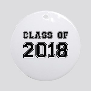 Class of 2018 Ornament (Round)