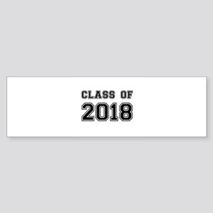 Class of 2018 Bumper Sticker