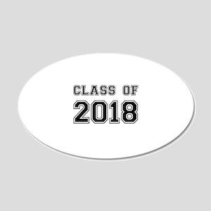 Class of 2018 Wall Sticker