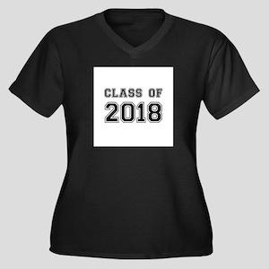 Class of 2018 Plus Size T-Shirt