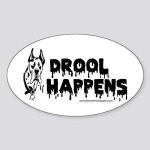 Drool Happens Sticker
