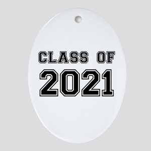 Class of 2021 Ornament (Oval)