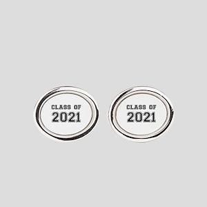 Class of 2021 Oval Cufflinks