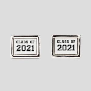 Class of 2021 Rectangular Cufflinks