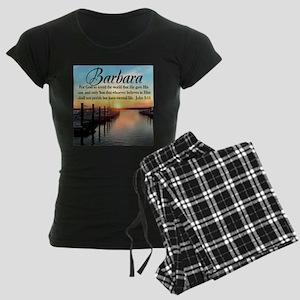 JOHN 3:16 VERSE Women's Dark Pajamas