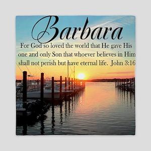 JOHN 3:16 VERSE Queen Duvet