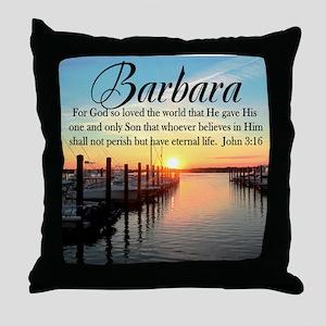 JOHN 3:16 VERSE Throw Pillow