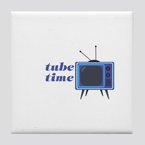 Tube Time Tile Coaster