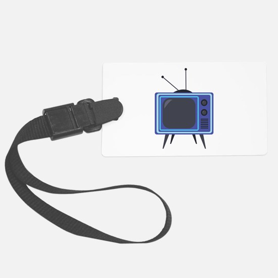 Television Luggage Tag