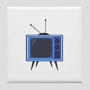 Television Tile Coaster