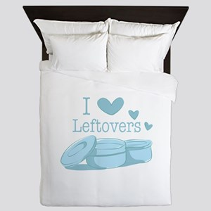 Love Leftovers Queen Duvet