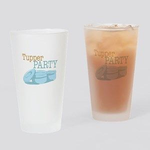 Tupper Party Drinking Glass