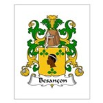 Besancon Family Crest  Small Poster