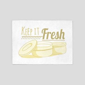 Keep It Fresh 5'x7'Area Rug