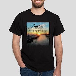 JOHN 6:35 VERSE Dark T-Shirt