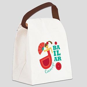Bailar Conmigo Canvas Lunch Bag