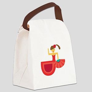 Spanish Dancer Canvas Lunch Bag