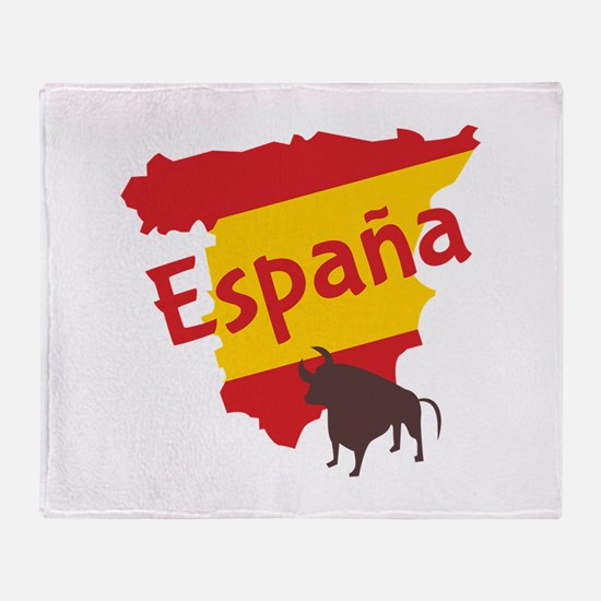 Espana Throw Blanket