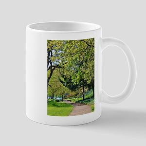 """""""Lane at Waverly Pond"""" Mugs"""
