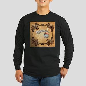 Funny cartoon baseball Long Sleeve T-Shirt