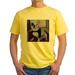 French Bulldog Yellow T-Shirt