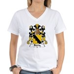 Berry Family Crest Women's V-Neck T-Shirt