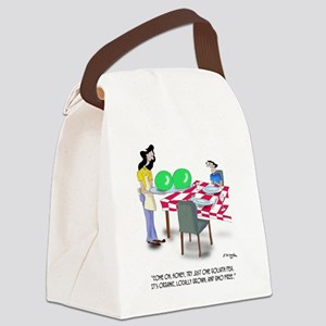 Vegetable Cartoon 9269 Canvas Lunch Bag