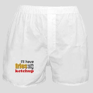 Fries With Ketchup Boxer Shorts