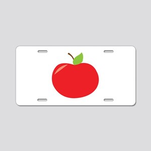 Tomato Aluminum License Plate