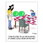 Vegetable Cartoon 9269 Small Poster