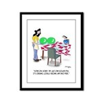 Vegetable Cartoon 9269 Framed Panel Print