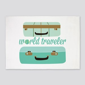 World Traveler 5'x7'Area Rug
