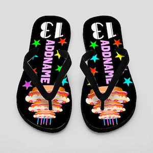 Stylish 13th Flip Flops