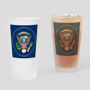 Presidential Seal Drinking Glass