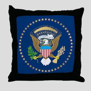 Presidential Seal Throw Pillow