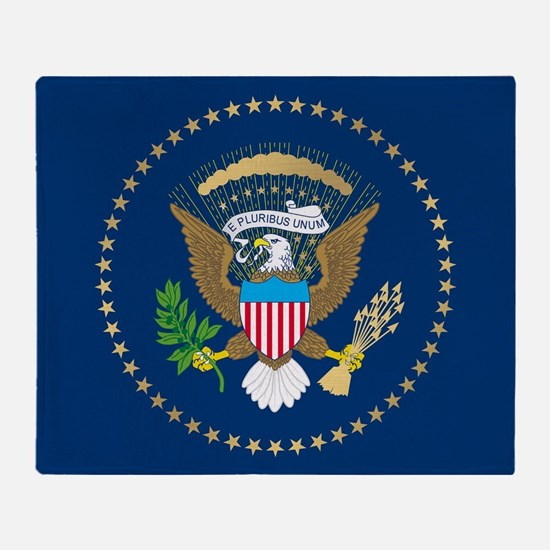 Presidential Seal Throw Blanket