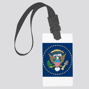 Presidential Seal Large Luggage Tag