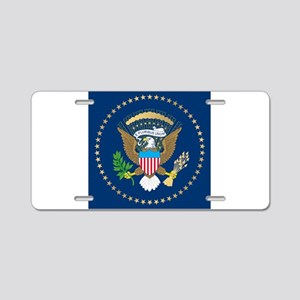 Presidential Seal Aluminum License Plate