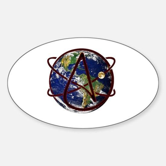 Unique For fun Sticker (Oval)