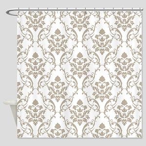 Damask Stylish Vintage Shower Curtain