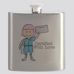 Certified With Love Flask