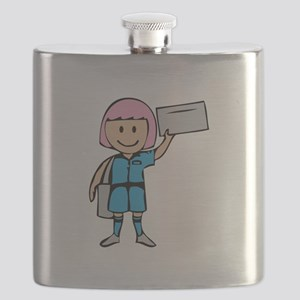 Mail Lady Flask