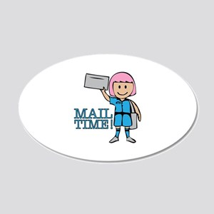 Mail Time Wall Decal