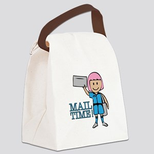 Mail Time Canvas Lunch Bag