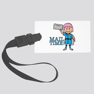 Mail Time Luggage Tag