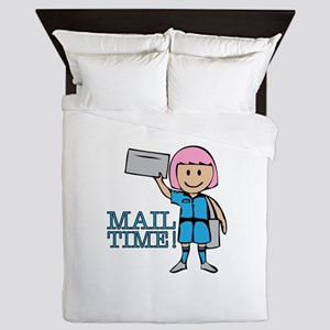 Mail Time Queen Duvet