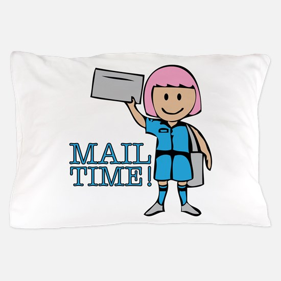 Mail Time Pillow Case