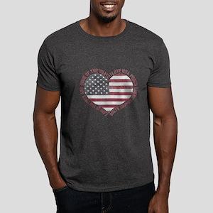 I Love USA Dark T-Shirt