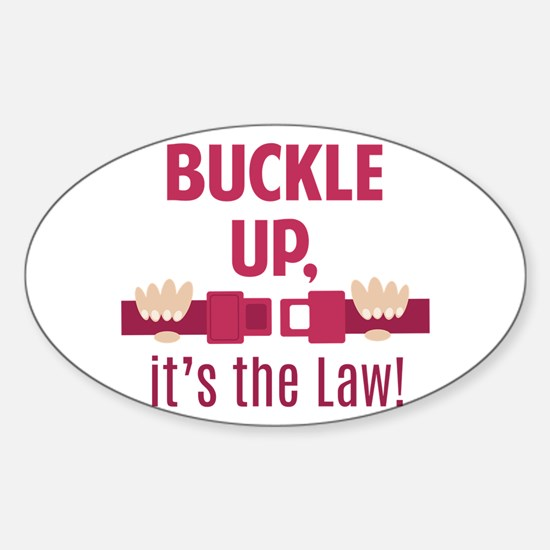 Buckle Up Decal